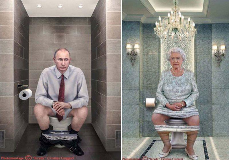 Старушки писают в туалете видео 115