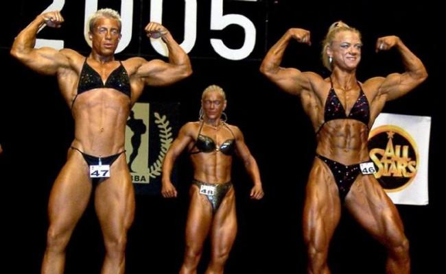 Спортивные девушки не всегда выглядят привлекательно